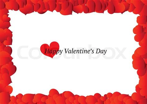 Shop Online Decoration For Home by Beautiful Valentine S Day Frame Vector Colourbox