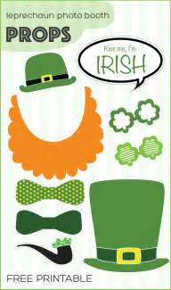 st s day leprechaun photo booth props