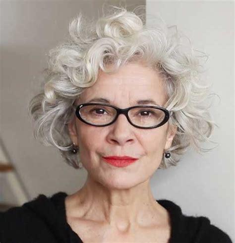modern gray frame haircut short pixie gray modern haircut side views fashion qe