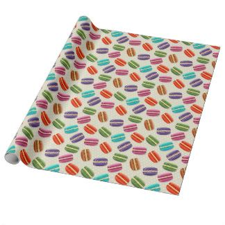paper pattern in french french wrapping paper zazzle