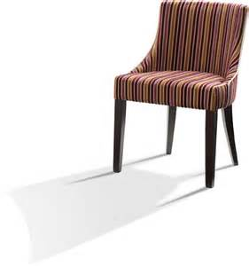 Stripe Fabric Dining Room Chairs Fuchsia And Gold Stripe Fabric Upholstered Chair