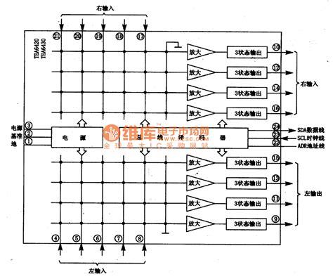 Pcb Matrix Lobang Ic matrix audio switch integrated circuit basic circuit circuit diagram seekic