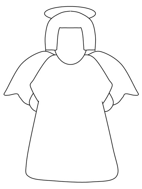 easy angel coloring pages angel simple shapes coloring pages coloring book