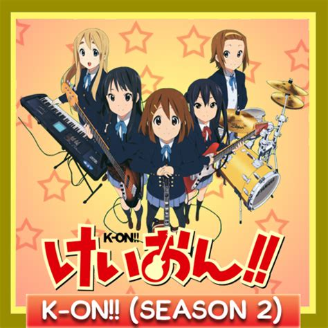 K Anime Season 2 by K On Season 2 Anime Icon By Amirovic On Deviantart