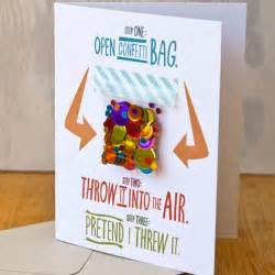 Adorable birthday card idea for long distance friends and relatives