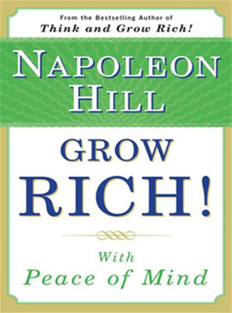 Peace Of Mind An Electronic Phone Book by Grow Rich With Peace Of Mind Ebook Free