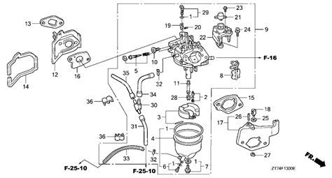 honda generator parts diagram periodic diagrams science