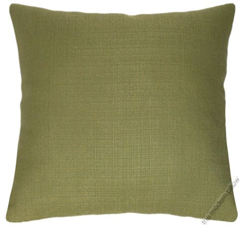 throw pillows for olive green olive green solid metro linen decorative throw pillow
