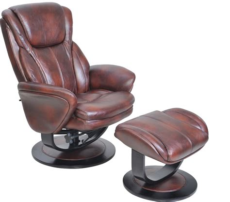 Barcalounger Swivel Recliner by Barcalounger Roma Ii Recliner Chair And Ottoman Leather