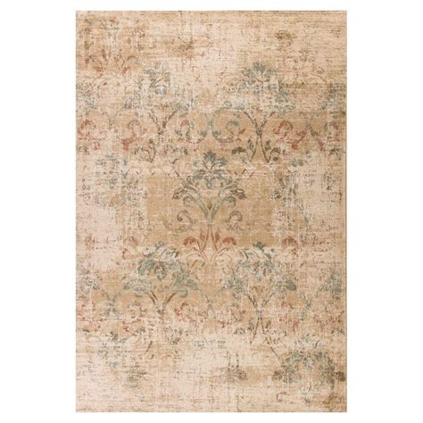 3 foot area rugs kas rugs driftwood ivory 3 ft 3 in x 4 ft 11 in area rug her935133x411 the home depot