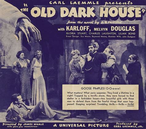 the old dark house 1932 pre code james whale horror the old dark house 1932 and the invisible man 1933