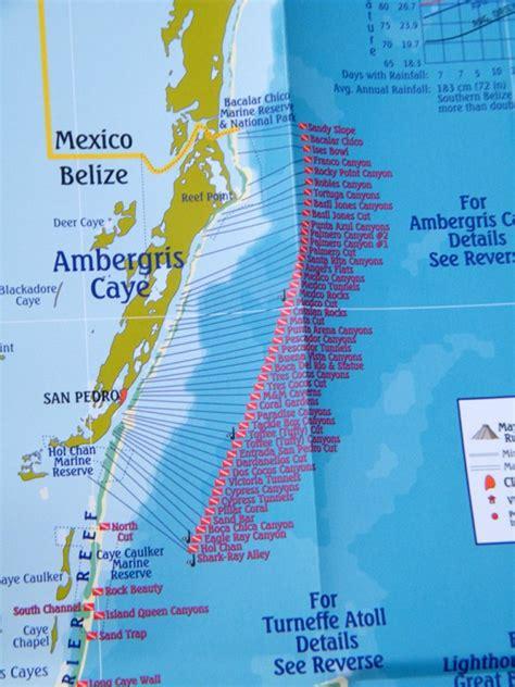 ambergris caye dive resort btb launches belize dive map in san pedro the san pedro sun