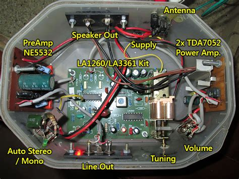 Ic La1260 La 1260 modifikasi tuner fm la1260 la3361 audioshare