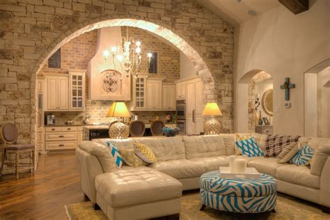 tile arch home design ideas pictures remodel and decor interior stone archways
