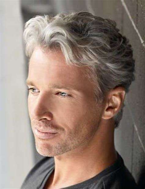 over 50 male gray hair cool older men hairstyles mens hairstyles 2018