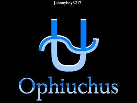 how to draw zodiac sign ophiuchus 1 new symbol brithday