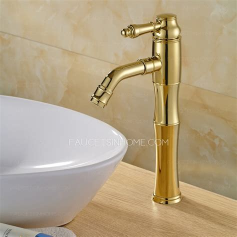 Vessel Sink And Faucet by Antique Polished Brass Vessel Mount Bathroom Sink Faucet