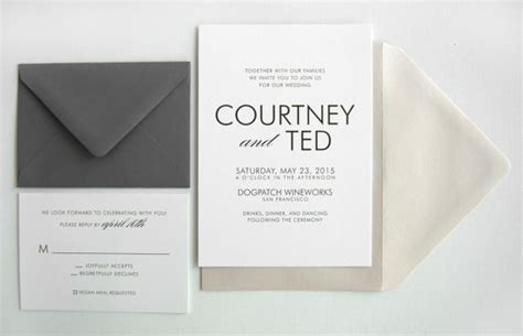 Inexpensive Wedding Invitations by 18 Simple Inexpensive Wedding Invitations The