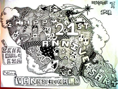 doodle anniversary 1 month doodle anniversary by rohanalexander on deviantart