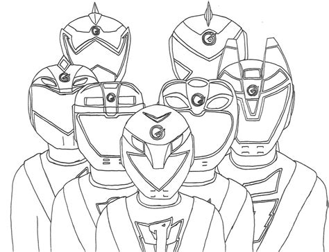 power rangers rpm free coloring pages