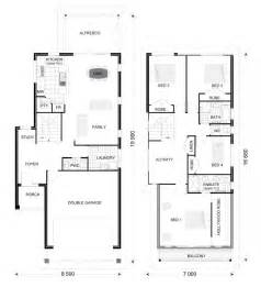 double storey floor plans double storey house plans house plan ideas pinterest