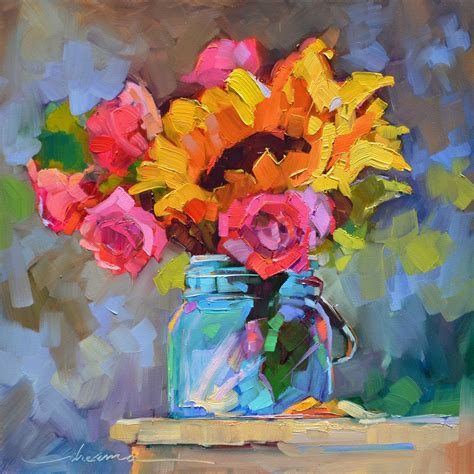 Détacher Peinture Acrylique by Dreama S Daily Paintings And Writings With Flowers