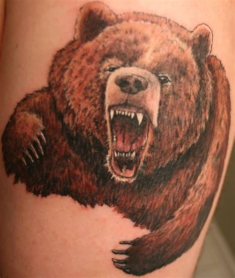 anger tattoo designs grizzly ideas and grizzly designs