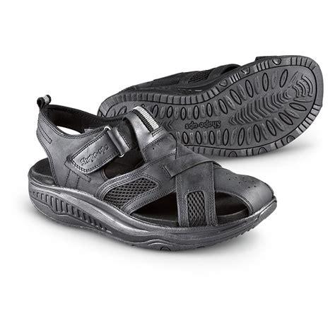 mens sketcher sandals s skechers 174 shape ups 174 session sandals black