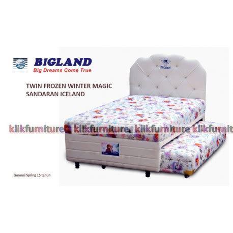 Bed Bigland 2 In 1 Frozen Bed Frozen Winter Magic Bigland Springbed Agen Termurah