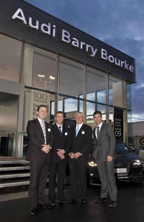 audi barry bourke new brand terminal for audi in berwick