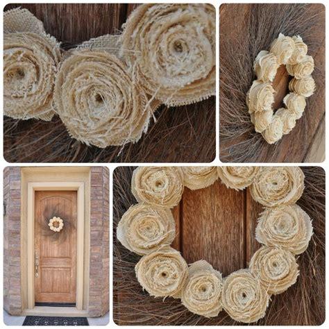 burlap crafts burlap fall wreath diy for someday
