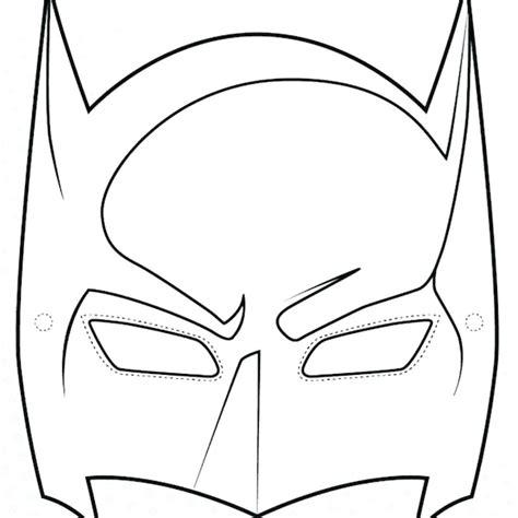 batman face mask template batman template mask