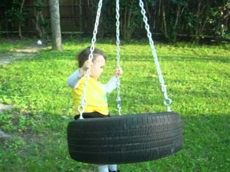 best swing ever best tire swing ever youtube