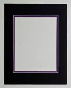 8x10 mat black and purple for 11x14 frame by ohiohiker