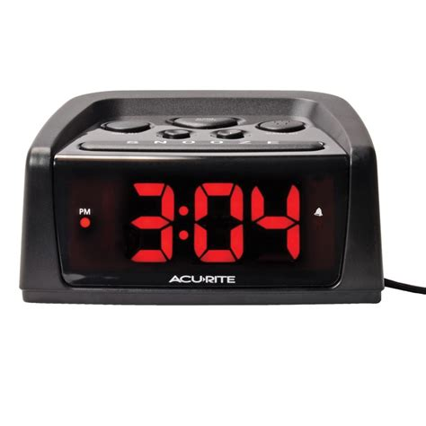 Digital Alarm Clock intelli time digital alarm clock with loud alarm acurite