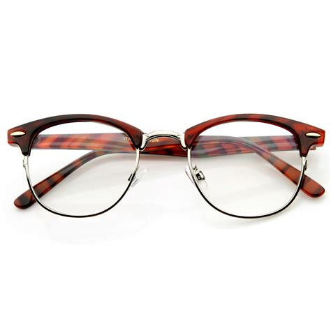Lens Glasses new original rx optical classical clear lens half frame