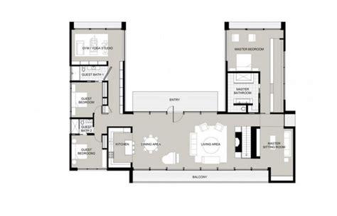 inspiring do it yourself house plans 4 energy efficient u shaped modern house plans inspirational energy saving u