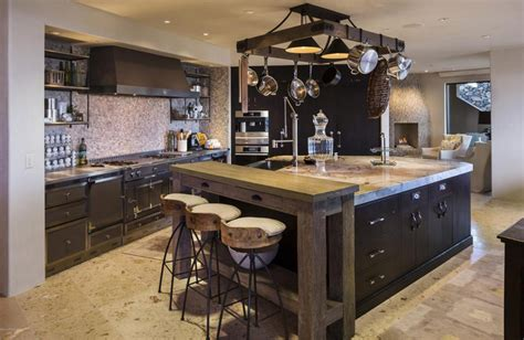 custom kitchen island 50 gorgeous kitchen designs with islands designing idea