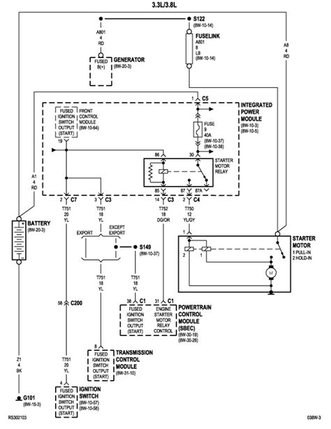 2003 dodge grand caravan wiring diagram 2003 free engine image for user manual download i have a 2003 dodge grand caravan se with a 3 3 at times it would not crank over at all the