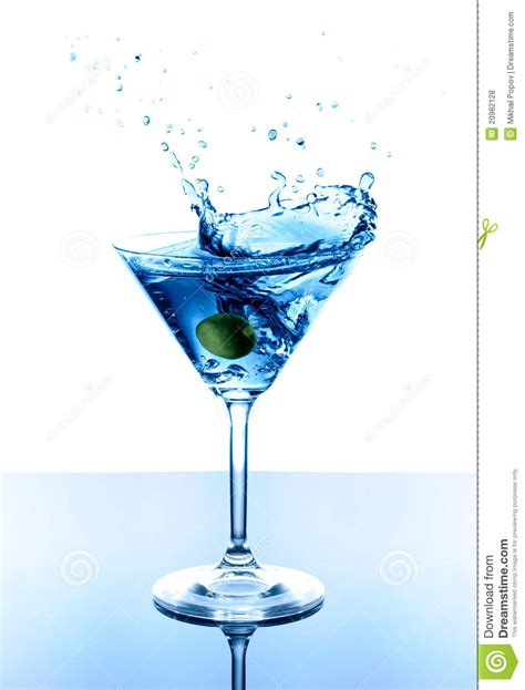 drink splash blue royalty free stock photos image 20982128