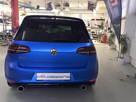 Newsletter Design Matt Blau Vorlagen Blau Matt Metallic Am Vw Golf Gti Clubsport 2m Designs Tuningblog Eu Magazin