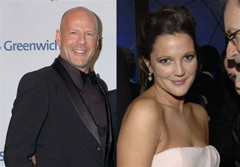 Drew And Fab Split by Drew S Never Been Kissed By Bruce Willis Up Until Last