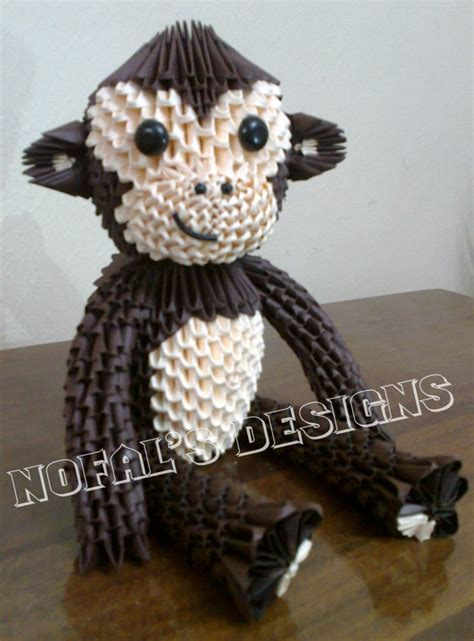 3d origami monkey 28 images monkey album origamigirl