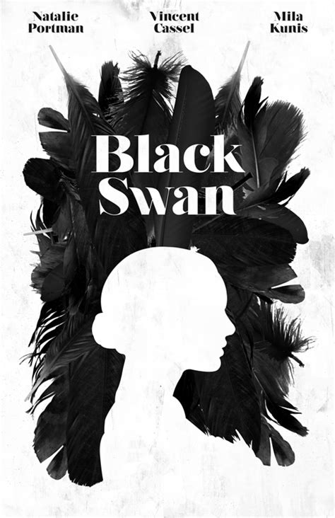 black swan  poster  billpyle  deviantart