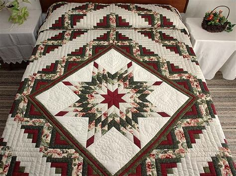 Lone Log Cabin Quilt Pattern by Lone Log Cabin Quilt Outstanding Cleverly Made