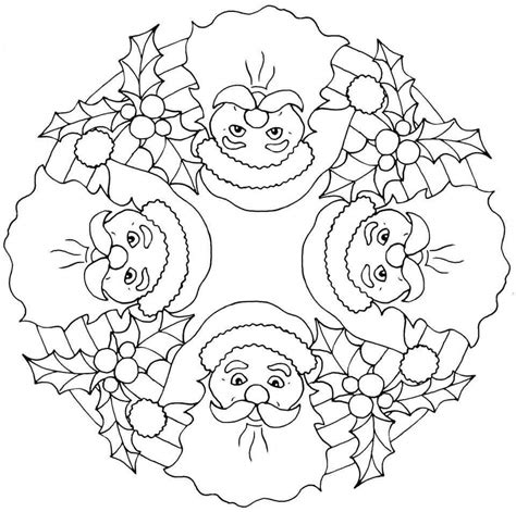 christian pages mandala christmas coloring pages