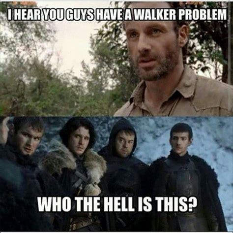 Walker Meme - game of thrones white walker battle meme