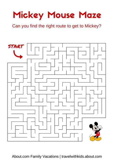 printable maze with no solution 14 free disney printable word searches mazes games