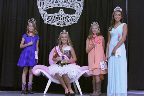 Named Playboys Junior Photo Editor by Williamson County Fair Pageant Winners Ages 4 To 21