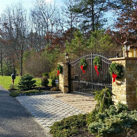 christmas driveways on pininterest 1000 images about amazing gates on